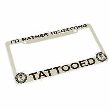 Sullen Bekleidung Rather Sein Getting Tattoo Art Weiß Kennzeichen Rahmen SCA0052