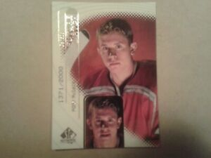 RORY McDADE 1998/99 98/99 SP AUTHENTIC FUTURE WATCH ROOKIE CARD #128 1371/2000