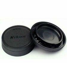 Body Front + Rear Lens Cap Cover For Nikon AF AF-S Lens DSLR SLR Camera