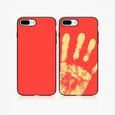 Heat Sensitive Color Change Magic Back Case Cover For Apple iPhone 6 6S Red
