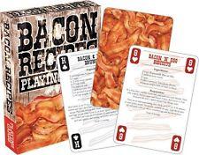 Bacon Recettes Lot de 52 cartes à jouer (NM)