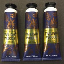 Bath & Body Works TWILIGHT WOODS 1 oz. Hand Cream Pack Of 3 NEW