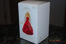 2012 Hallmark Celebration Barbie Special Holiday Doll Series Keepsake Ornament