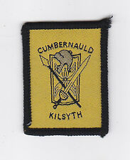 SCOUTS OF SCOTLAND - SCOTTISH CITY OF GLASGOW CUMBERNAULD KILSYTH SCOUT PATCH