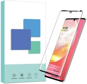 3D Curved Full Screen Cover LG Velvet,V40,V50 Tempered Glass Screen Protector