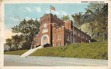 C6/ Pomeroy Ohio Postcard 1922 Meigs County Armory Ohio National Guard