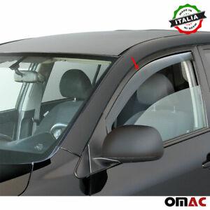 Window Visor Vent Sun Shade Rain Guard 2pcs Fits Audi A4 Avant 2008-2016