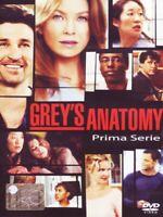 Grey's Anatomy - Serie TV - 1^ Stagione - Cofanetto Con 2 Dvd - Nuovo Sigillato