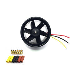 55mm Duct Fan 3500KV Brushless Motor for RC Model Aircraft 500g EDF Jet AirPlane