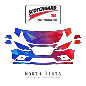3M Scotchgard PreCut Paint Protection Clear Bra PPF for Subaru Legacy 2018-2019