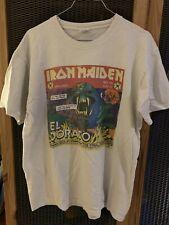Iron Maiden El Dorado T-Shirt L 2011 The Final Frontier Tour Vintage