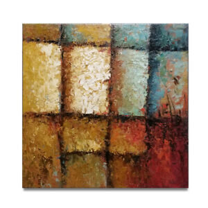 HUNGRYARTIST - contemporary modern abstract original oil painting on canvas #22