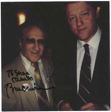 President Bill Clinton Signed Photo / IN PERSON