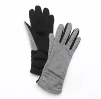 Women Mini Houndstooth Gloves 3M Thinsulate Insulation 40g - Size: S-M, MSRP $42