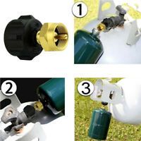Thread Canister Valve Gas Propane Propane Refill Adapter Cylinder Coupler Newest