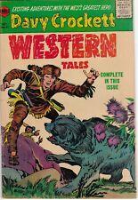 Western Tales #31 Davy Crockett 1955 HTF Simon & Kirby Glossy VG 4.0 Boys Ranch