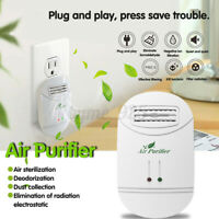 Portable Mini Home Air Purifier Cleaner Sterilization Negative Lonizer Diffuser