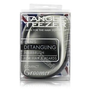 TANGLE TEEZER COMPACT GROOMER HAIR & BEARDS HAIRBRUSH SPAZZOLA DISTRICA BARBA