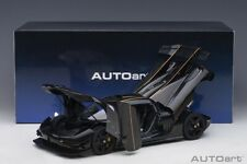 Autoart 2014 KOENIGSEGG ONE CLEAR CARBON FIBER/GOLD STRIPES 1/18 Scale New!
