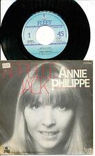 ANNIE PHILIPPE 45 TOURS HOLLANDE LUNDI BLUE