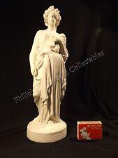 C.1880'S PARIAN WARE 32 CM DEMETER/CERES  GREEK/ ROMAN GODDESS OF THE HARVEST.
