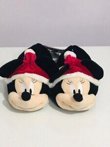 Ladies Primark DISNEY 3D Mickey Mouse slippers  3 4 5 6 7 & 8 Christmas