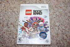 Lego Rock Band (Nintendo Wii) NEW Factory Sealed