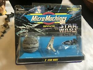 Galoob X Star Wars Micro Machines Vehicles 1997 NIP