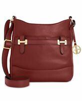 Giani Bernini Womens Crossbody Bag Red Wine Adjustable Strap Phone Pocket NWOT