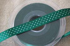 Rubans vert pour loisirs créatifs polyester
