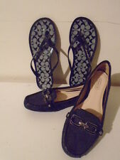 COACH FLATS A2886 SHOES & SANDLES PERRY SIZE 6B- MINT 4HRS PHOTO SHOOT  USE