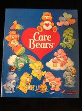 CARE BEARS STICKER ALBUM-UNOPENED STICKER PACKS-PROMO STICKER-INTRO SHEET-1985