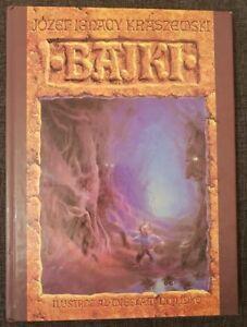 BAJKI Jozef Ignacy Kraszewski   Hardback 1993 Polish book   illustrator Dojlidko