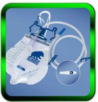Urinbeutel 2 x UROSID®  Urindrainage 2Liter  Schlauchl. 90cm |►Händler◄