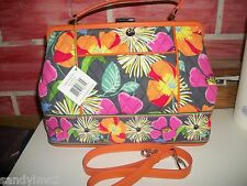 Vera Bradley  Barbara Bag in Jazzy Blooms  NEW WITH TAGS