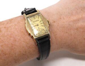 Brilliant Vintage Gents Manual Wind Bulova Wristwatch Running #198