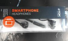 TDK Smartphone Headphones IP150 Earphones with Microphone - Black