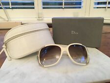 1e4ae33f337 Stunning Sunglasses by Dior Cream With Aqua Stone