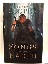 CANCIONES of the Earth Por Elspeth COOPER 1º Edición Tapa Dura FIRMADO Y FECHA