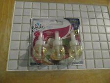 Glade Plug Ins Scented Oils 3 Pk. Refills (Vanilla Passionfruit) New