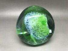 Caithness Green Pebble Paperweight