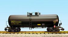 USA Trains G Scale 42 Foot Modern Tank Car R15252 UTLX - Black, Yellow Printing