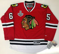 ANDREW SHAW 2013 CHICAGO BLACKHAWKS STANLEY CUP REEBOK PREMIER JERSEY