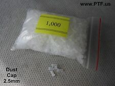 Dust Caps for Fiberoptic Connectors 2.5mm, One Thousand pcs