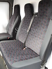 FORD TRANSIT- 2001 SEAT COVERS - SPORTS BRICK DESIGN- SINGLE+ DOUBLE