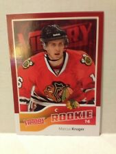 2011-12 Victory Red Marcus Kruger RC #208 Chicago Blackhawks