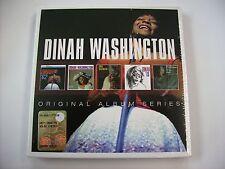 DINAH WASHINGTON - ORIGINAL ALBUM SERIES - 5CD BOXSET NEW SEALED 2015