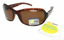 Cancer Council Womens Fashion Polarised Sunglasses Petite Kew Brown Tortoise