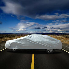 """NEW Motor Trend All Weather Outdoor Waterproof Car Cover Fits up to 190"""" W/ Lock"""