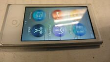 Apple ipod nano 7th Gen 16GB Silver LINES ON SCREEN DCYNMDH8F0GT inc VAT